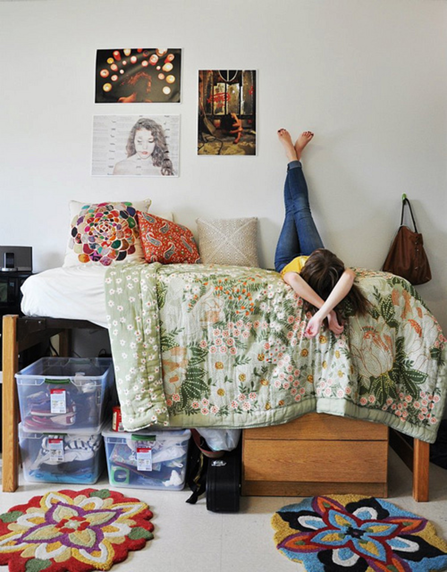 Cool College Dorm Rooms: 8 Dorm Room Ideas (Help! My Kid Is Living In Cluttered