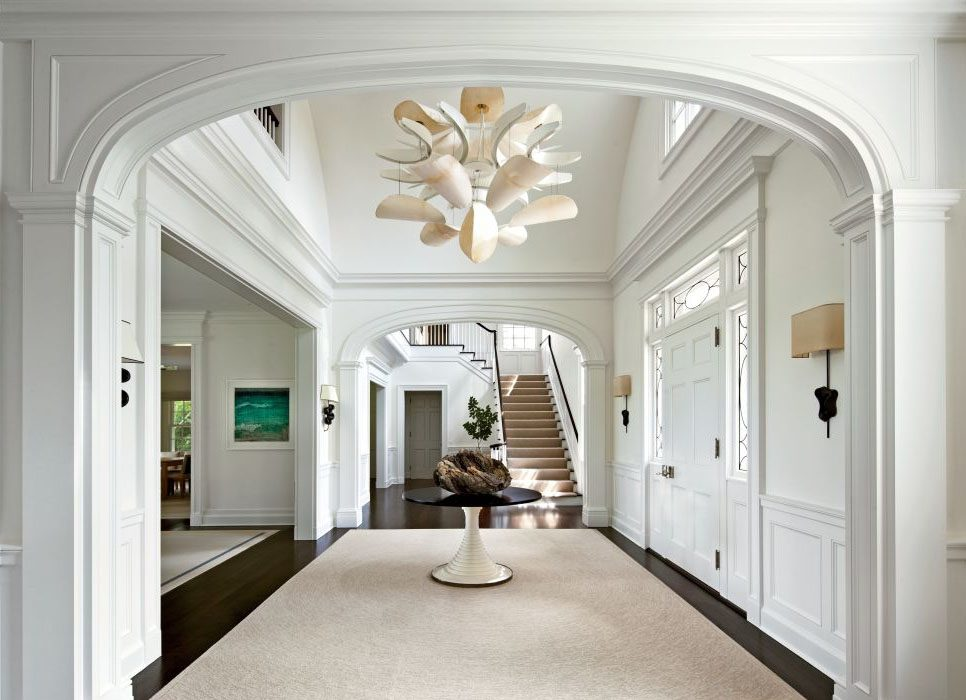 3 Ideas For Entryways How To Decorate Your Foyer Kathy Kuo Blog Home