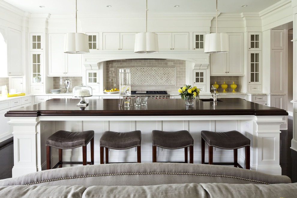 Should I Build a Counter or a Bar in My Kitchen? | Kathy Kuo Blog ...