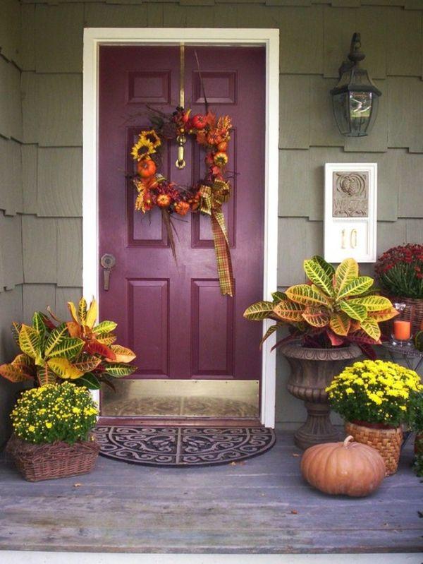 puple-front-door-design