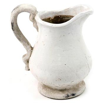 French Country Stoneware Pitcher
