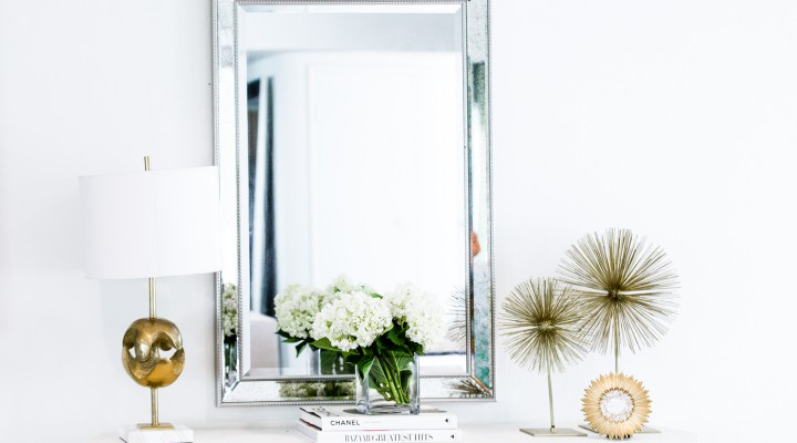 How to Decorate a Console Table (featuring The Chriselle Factor)