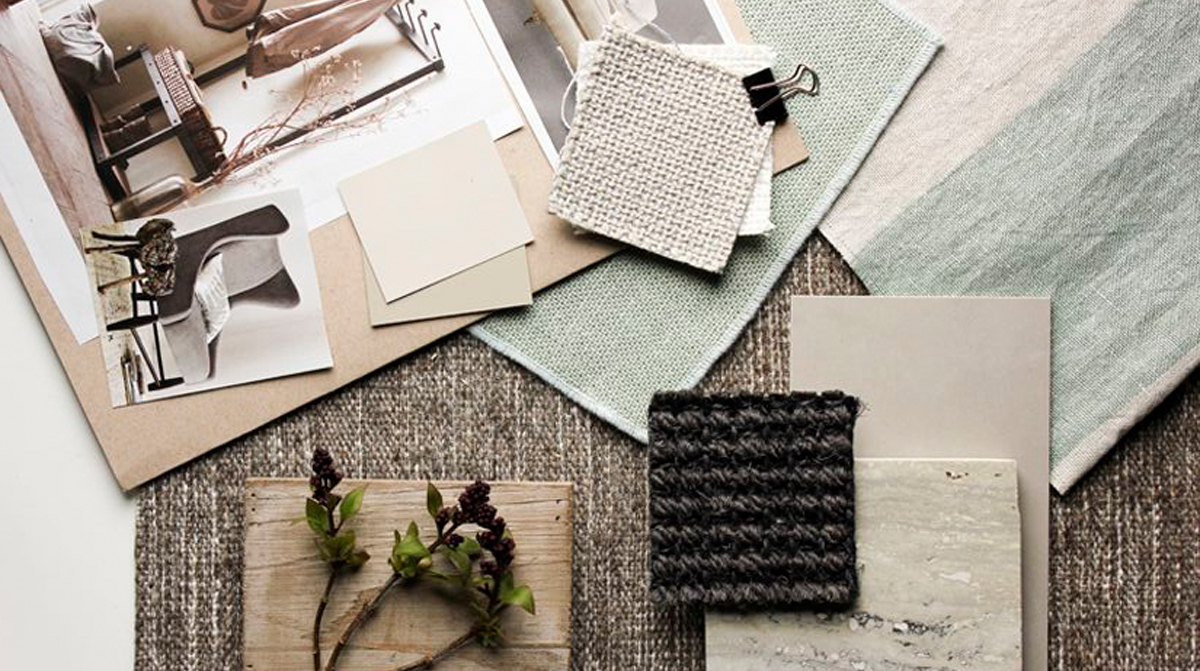 How to present a design board to your interior design client kathy kuo blog kathy kuo home for What is a sample board in interior design