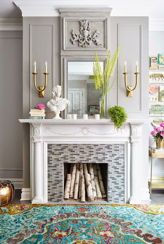 Our fireplace decorating ideas with have you burning for more.