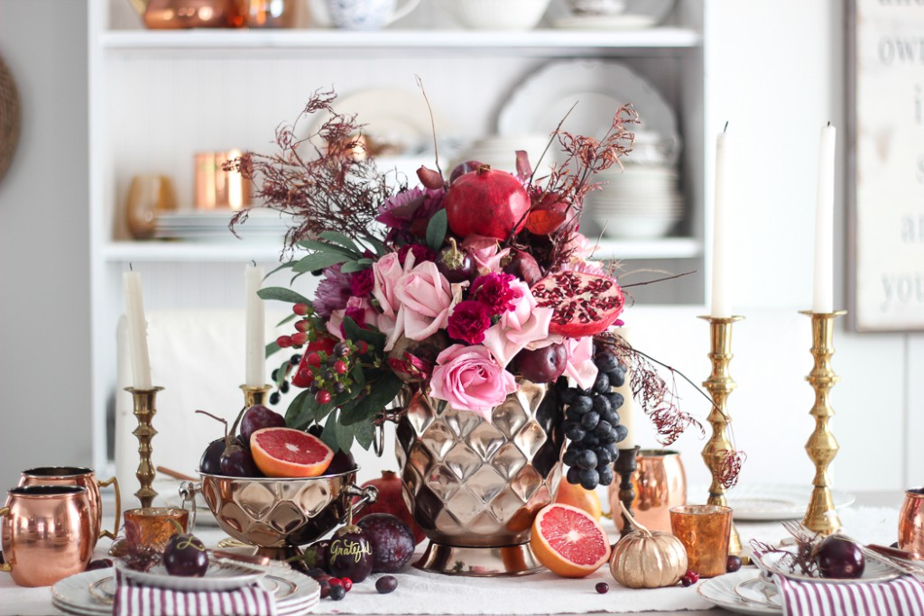 thanksgiving tablescape kathy kuo home