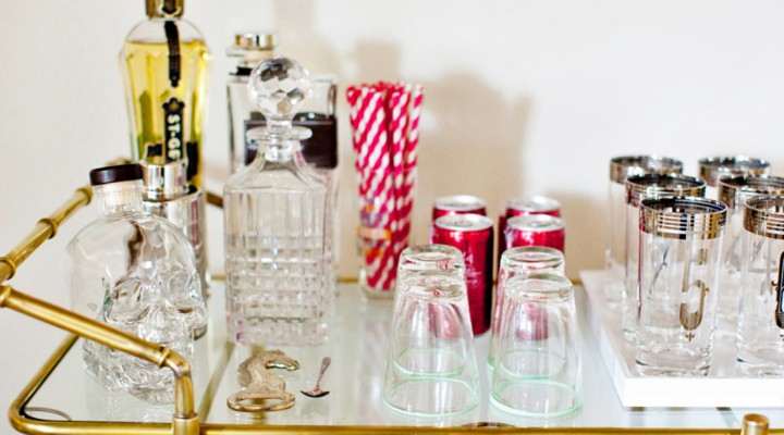 Cheers to a Perfectly Designed Home Bar & a Festive Night In