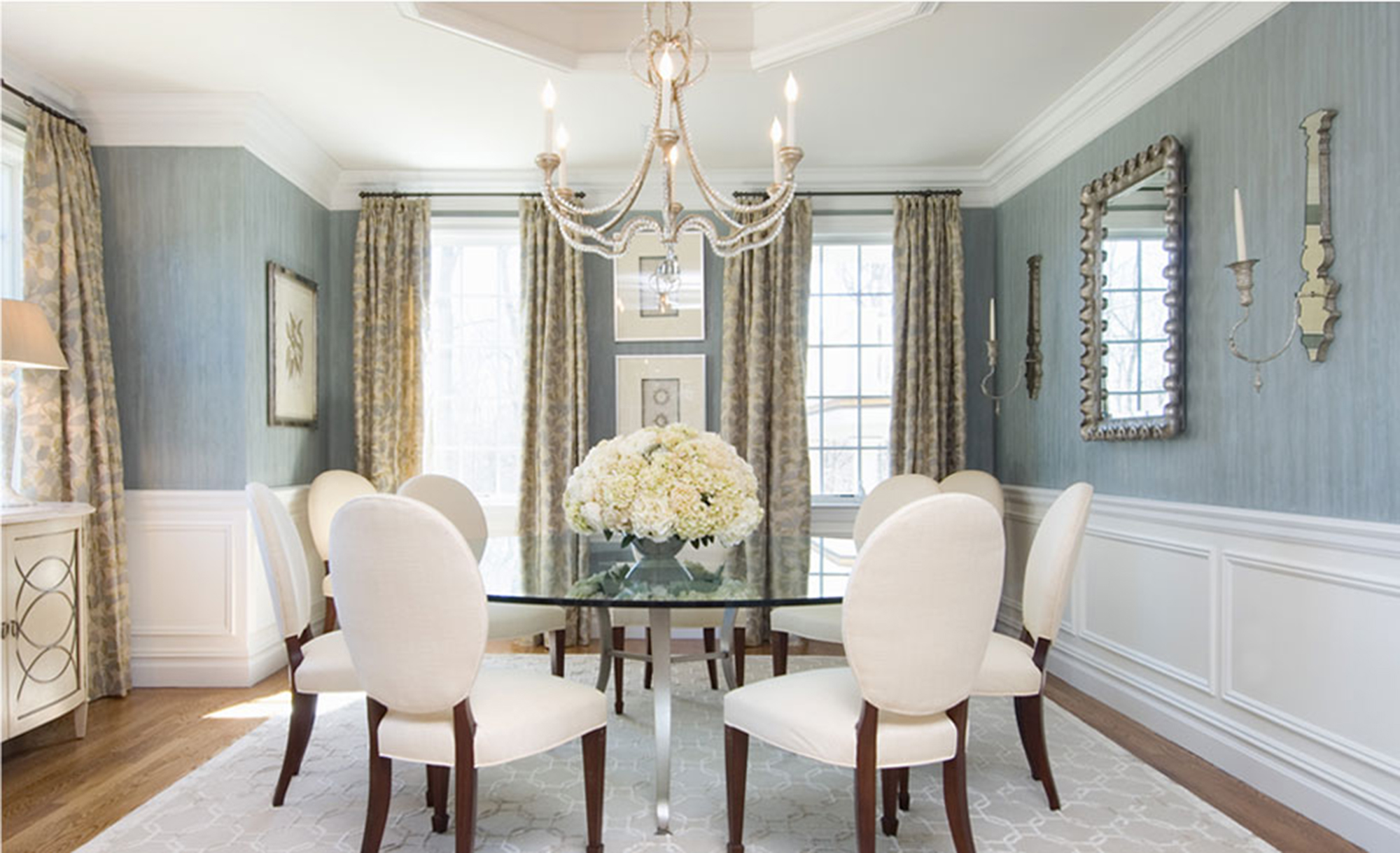 nice home dining rooms. How Many People Can Fit At My Dining Room Table? | Kathy Kuo Blog Home Nice Rooms