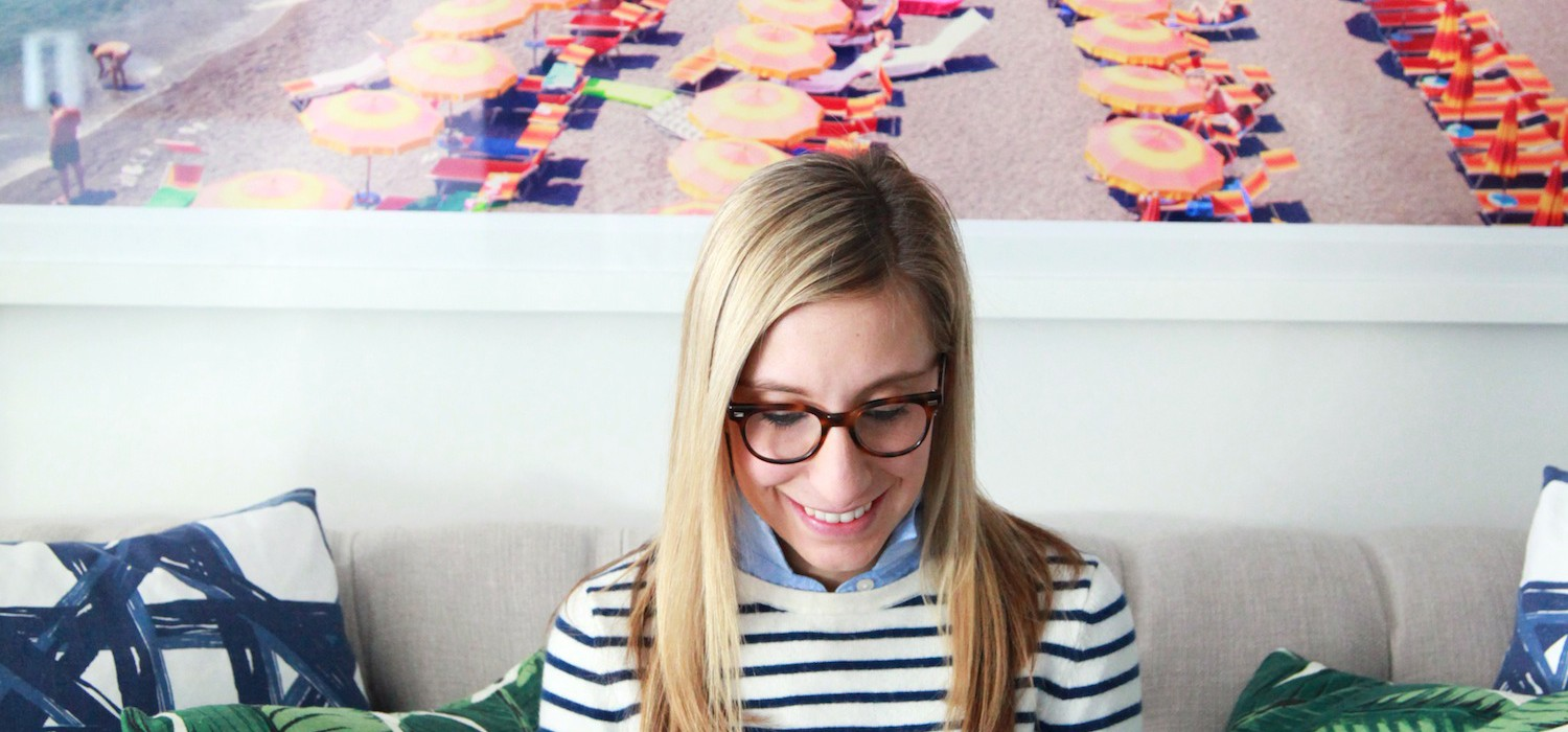 Julia Dzafic of Lemon Stripes: How to Get My Preppy New England Chic Style