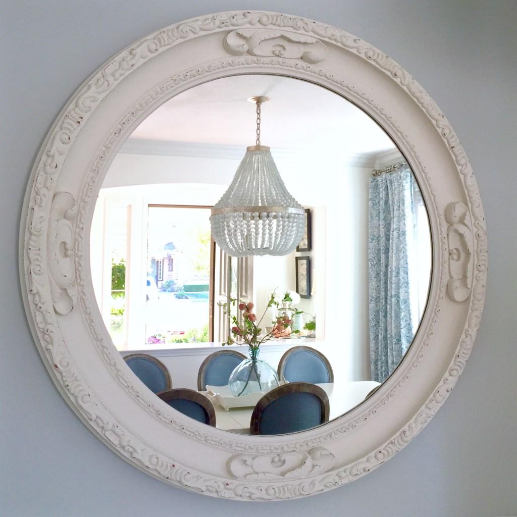 Kristy Wicks' Blue & White Dining Room