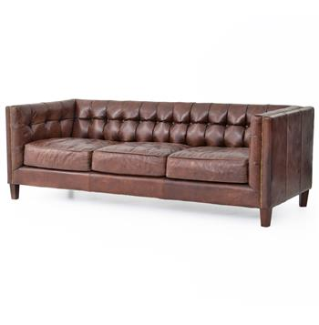 Christopher-Rustic-Lodge-Tufted-Straight-Back-Brown-Leather-Sofa-9528
