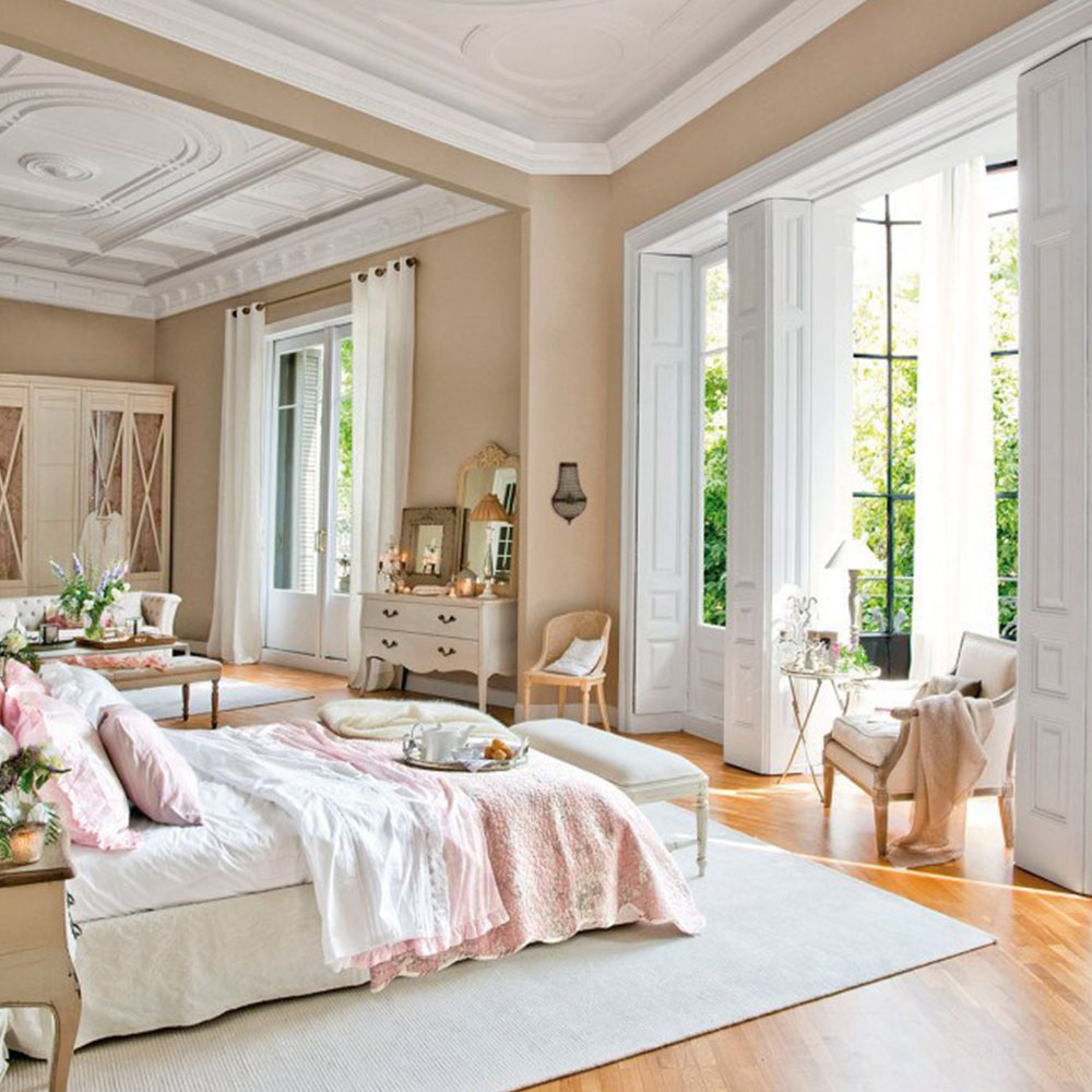 Kathy Kuo Home French Feminine Bedroom