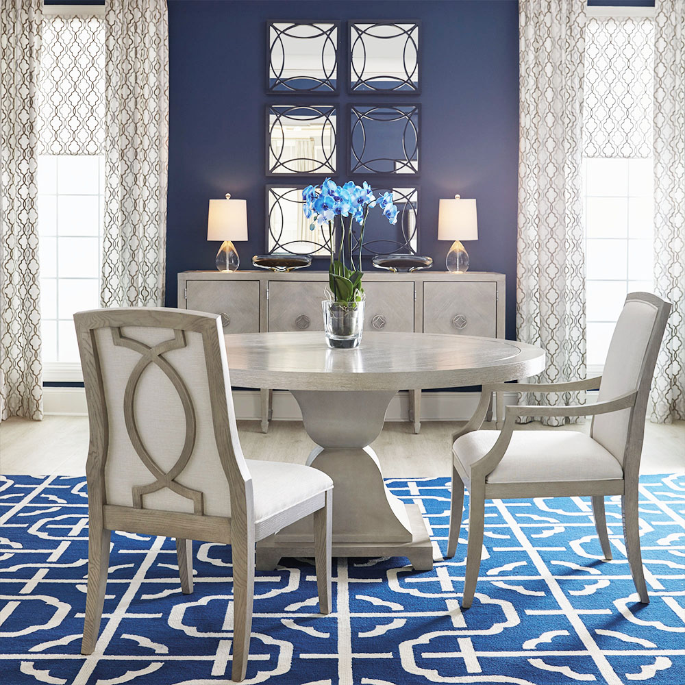 blue dining room kathy kuo home