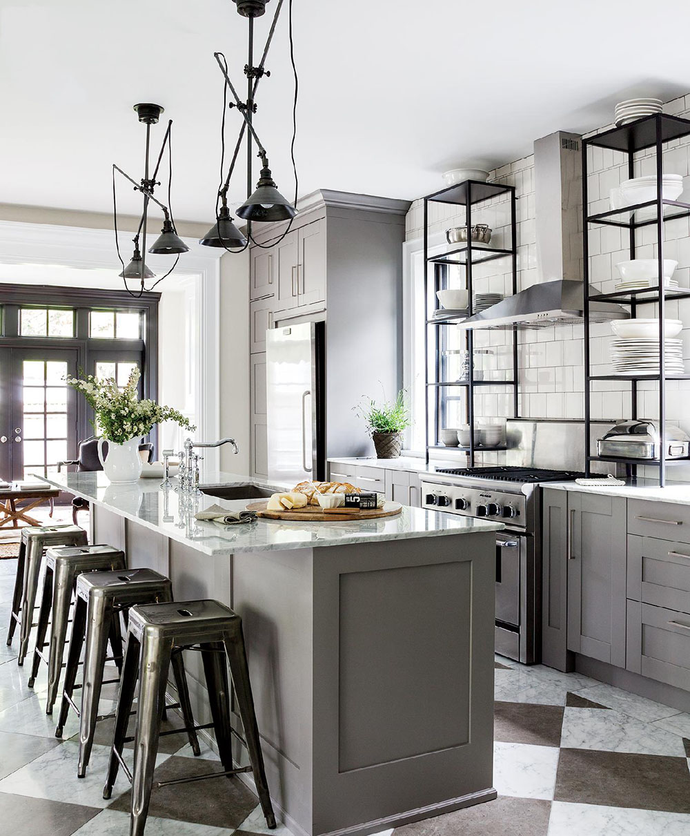 masculine kitchen kathy kuo home