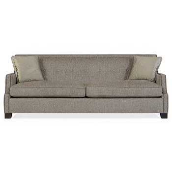 Bexley-Modern-Classic-Mocha-Wood-Taupe-Sofa