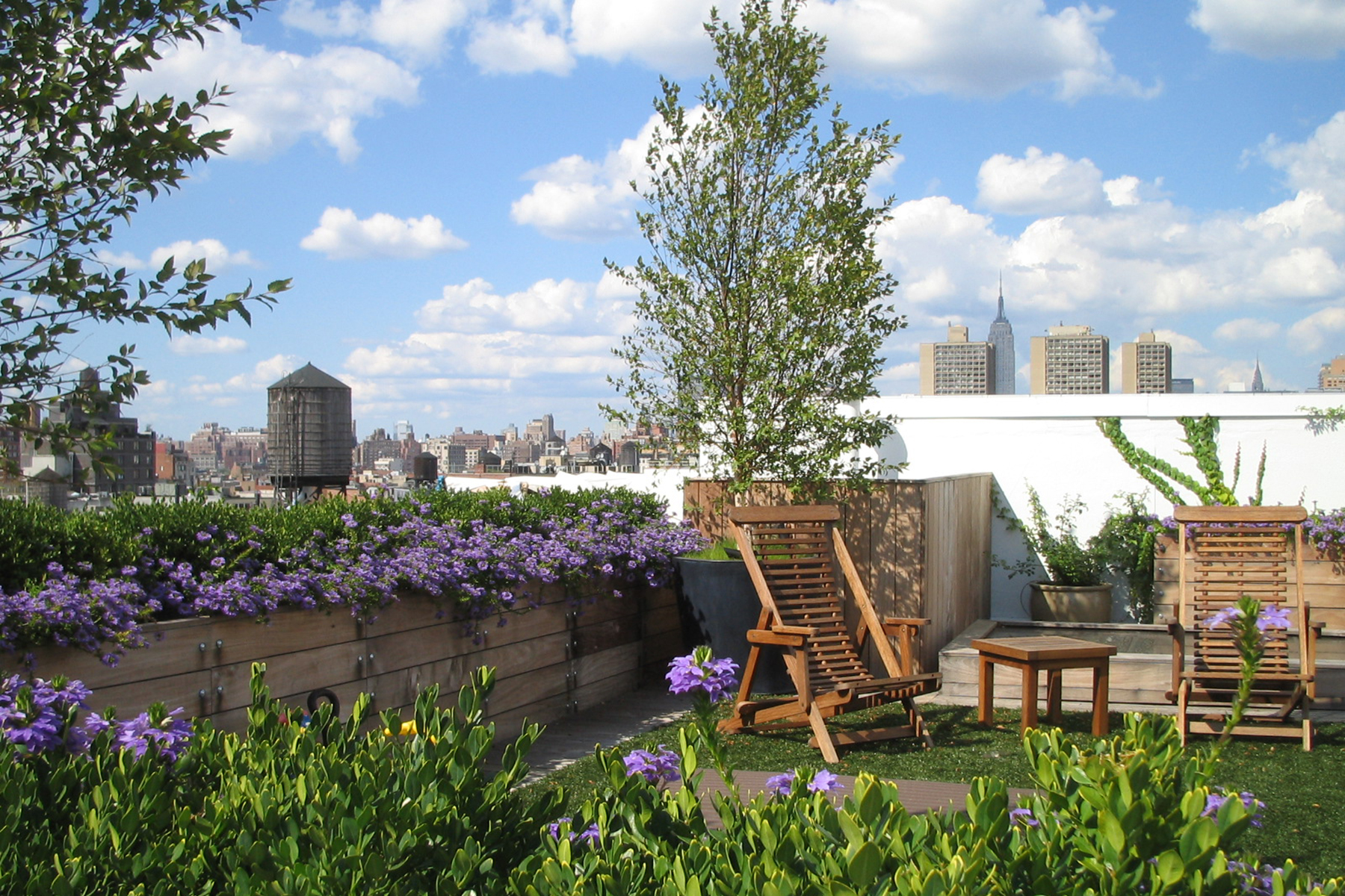 Soho terrace by Gunn Landscape Architecture