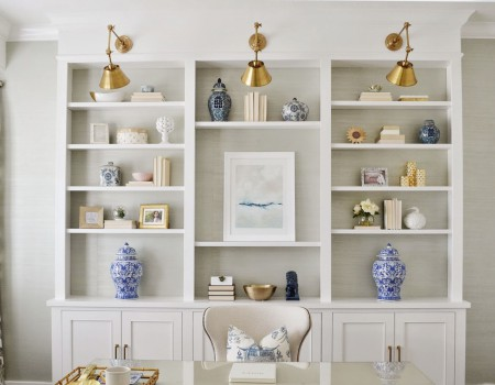 7 Secrets to Chic & Styled Shelves | Kathy Kuo Home