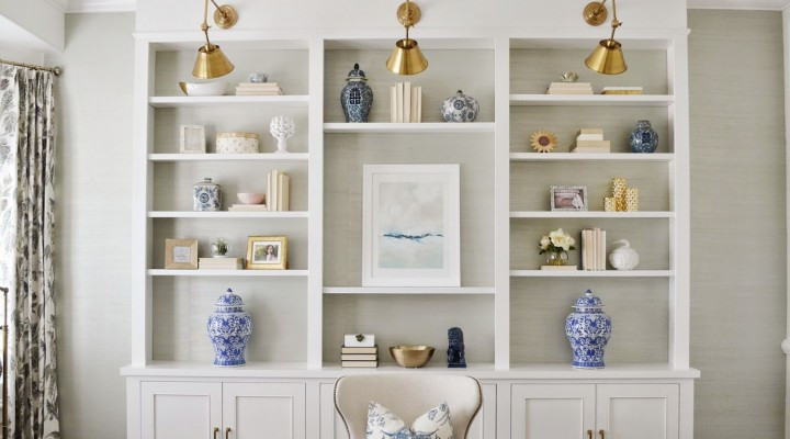 7 Secrets to Styling Your Shelves