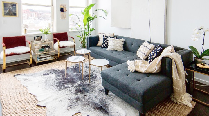 How to Layer Rugs the Right Way