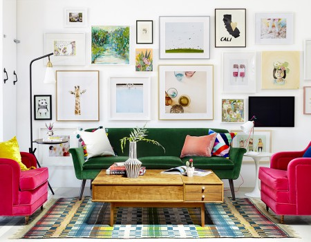 How to Hang a Stunning Gallery Wall | Kathy Kuo Home