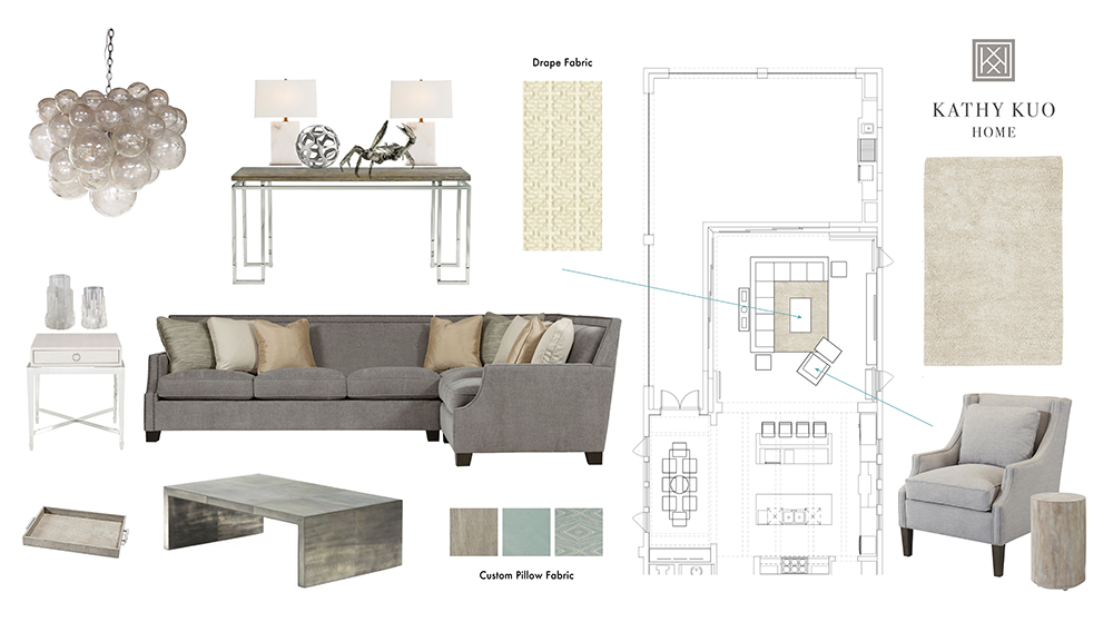 KKH Family Room Design Schematic
