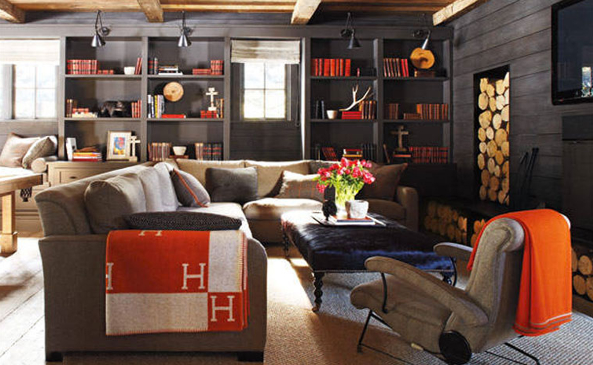another rustic room