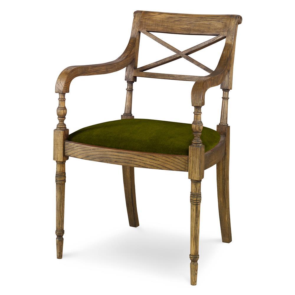 Vendee French Rustic Oak Side Chair