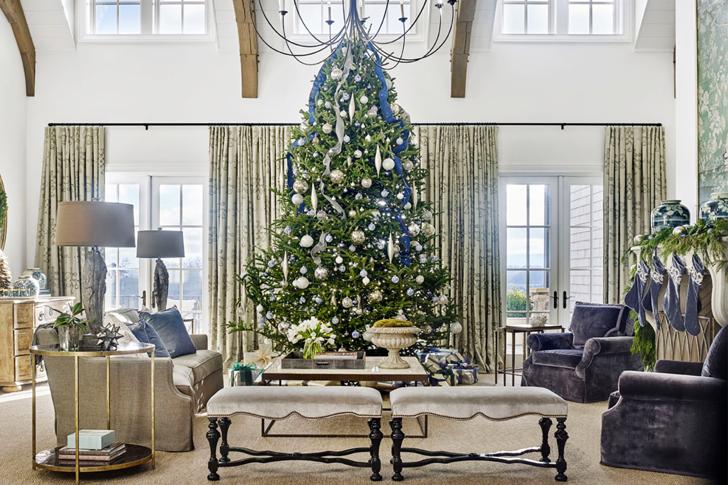5 christmas tree decoration ideas that ll have everyone dancing merrily kathy kuo blog kathy kuo home 5 christmas tree decoration ideas that