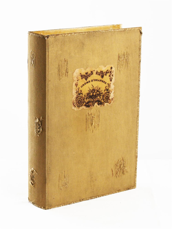 Livre Antique Farmhouse Book Storage Box