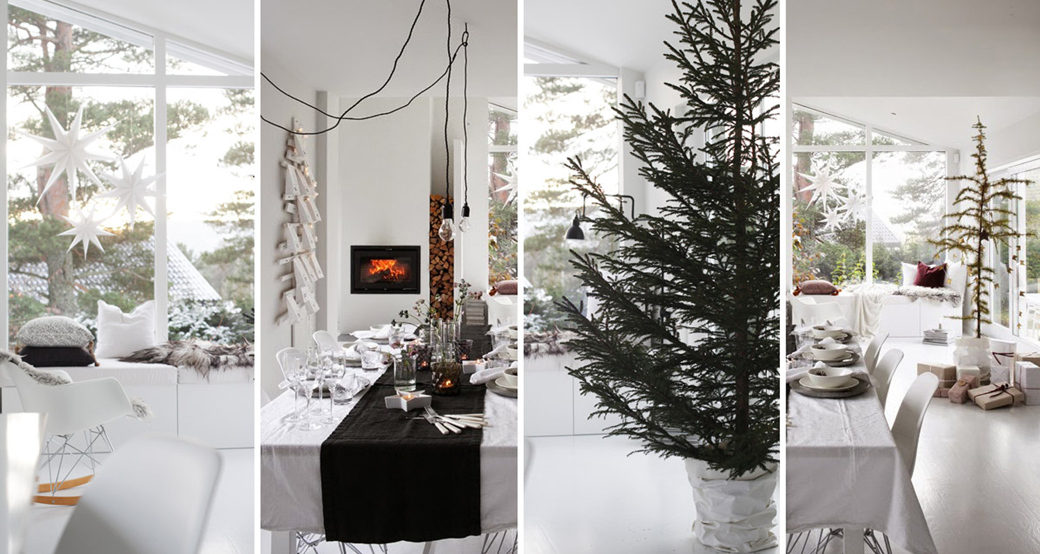 5 secrets to scandinavian christmas decor - Nordic Christmas Tree Decorations