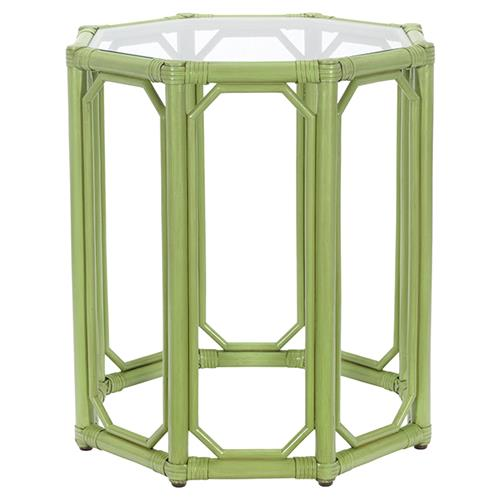 Rema Global Regeant Rattan Octogon End Table