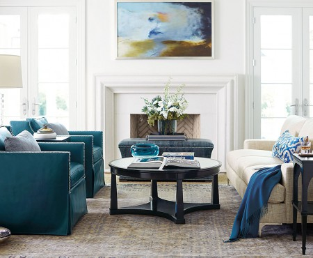 How to Get A Luxe Living Room for Under 10K
