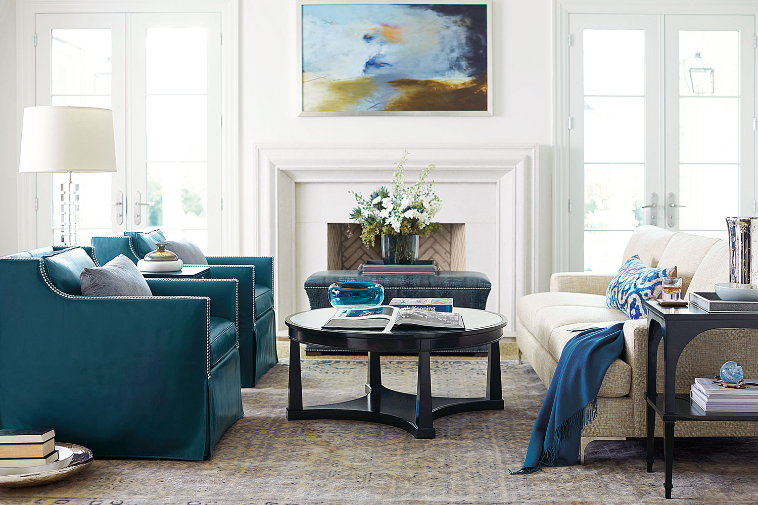 How to Get A Luxe Living Room for Under 10K | Kathy Kuo Blog | Kathy ...