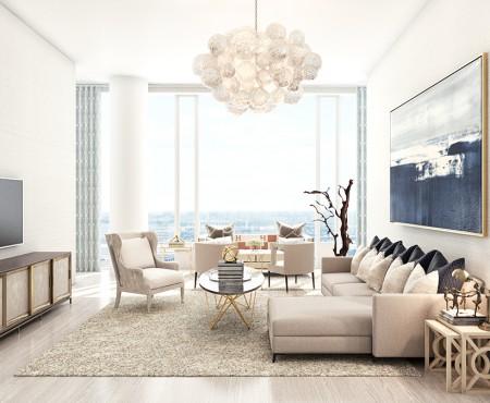 Achieving Zen & Color in a New York City Loft
