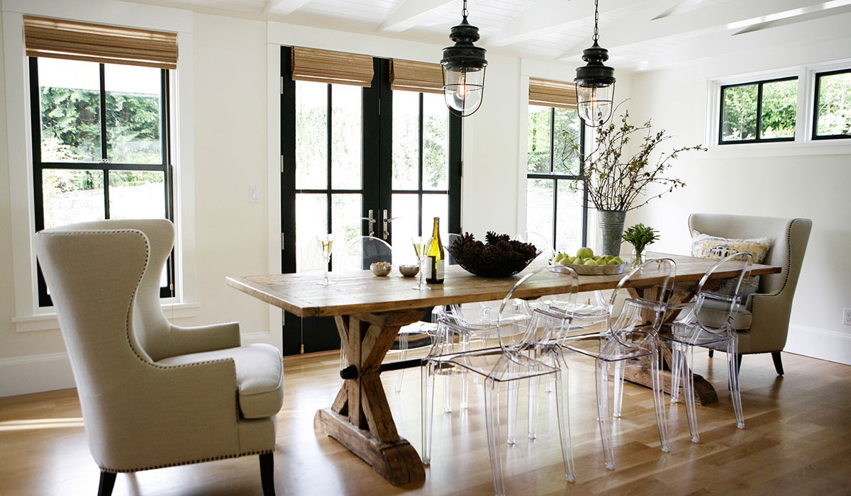 3 springtime rustic dining room looks for under 10k for Dining room looks