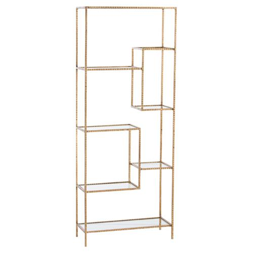 Worthington Regency Studded Iron Etagere