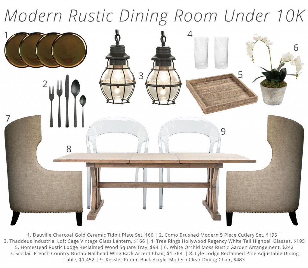 3 Springtime Rustic Dining Room Looks for Under 10K  Kathy Kuo Blog  Kathy Kuo Home