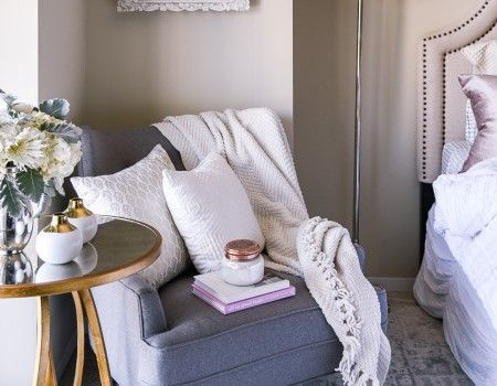 "Jenna Colgrove of ""Visions of Vogue"" Shares How to Style a Cozy Corner 
