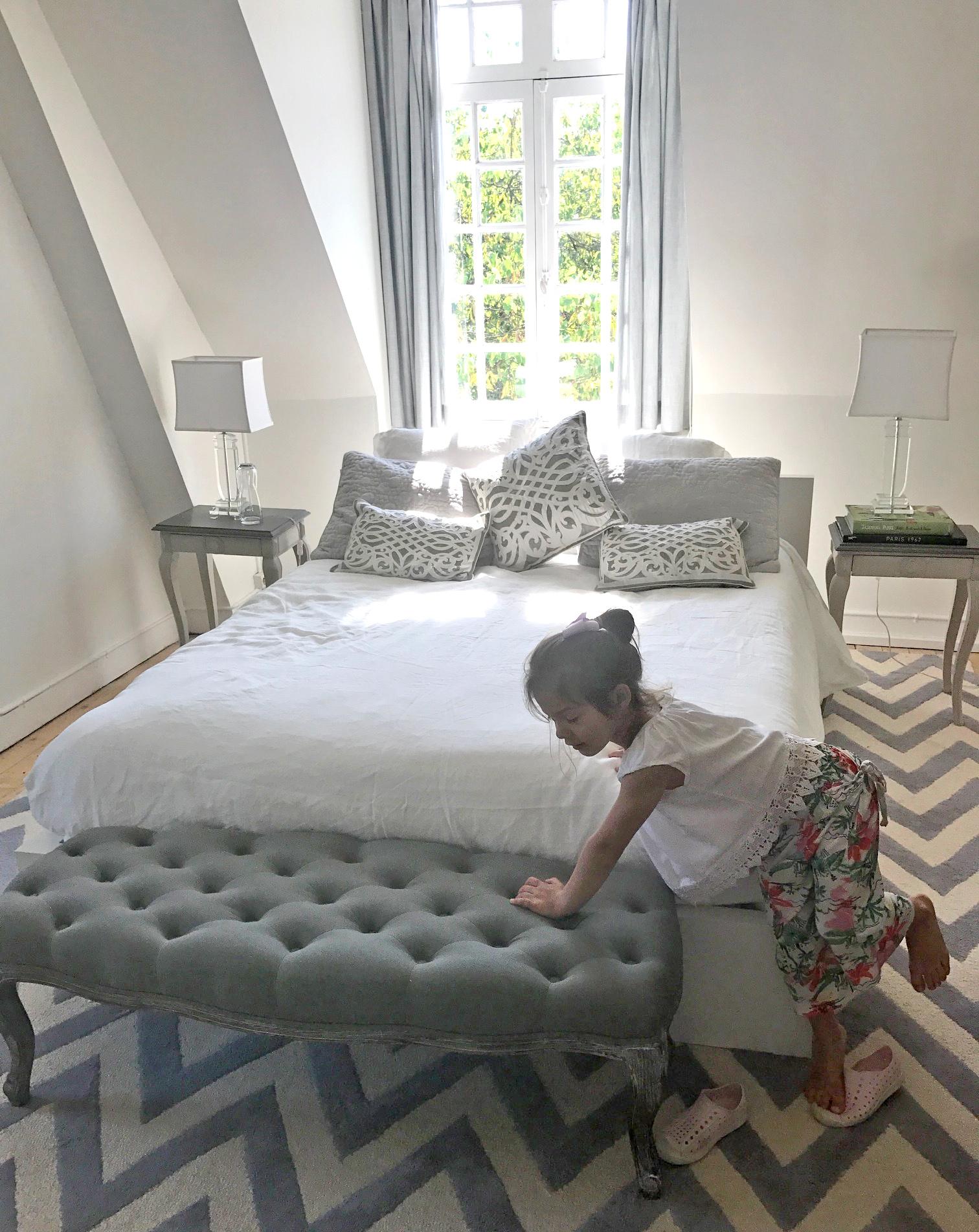 Upstairs Bedroom at La Restrie