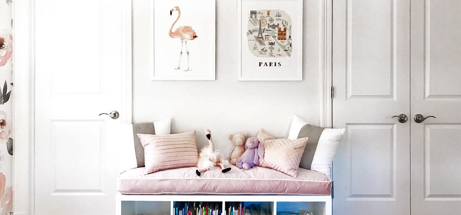 A Bright & Playful Kids Room
