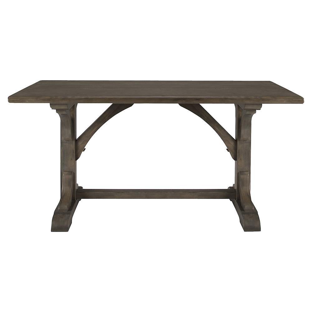 Hayley French Country Belgian Oak Rectangular Rustic Dining Table