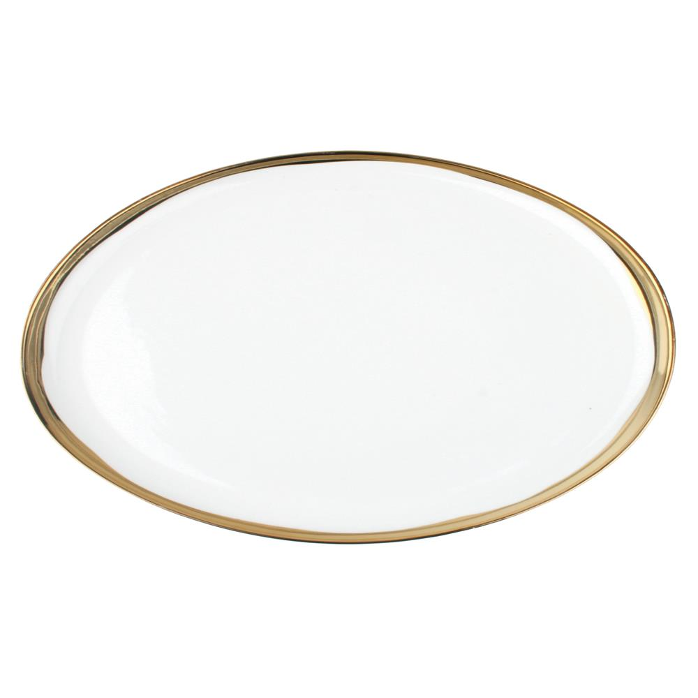 Dauville Regency Gold Trim Platter