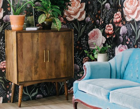These Floral Wallpapers Are Going to Be Your New Obsession