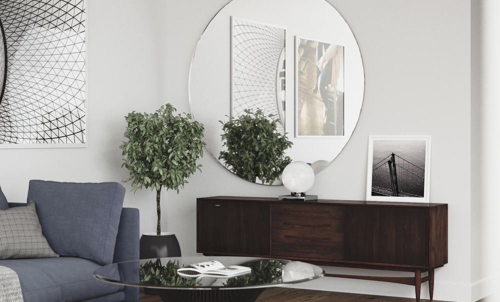 Use Round Mirrors To Complete Any Room in Your Home