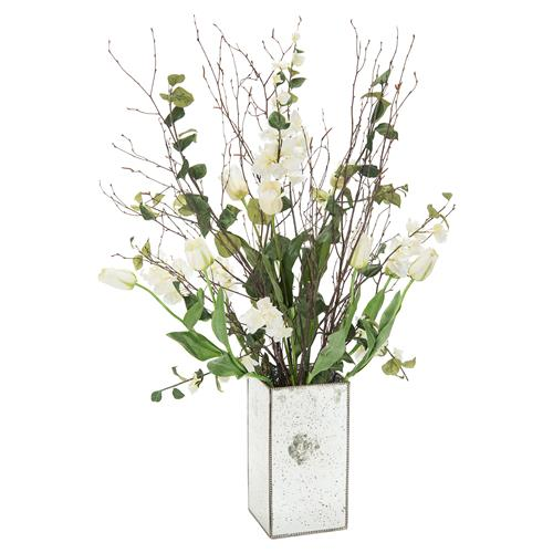 John-Richard Tall White Tulip Arrangement