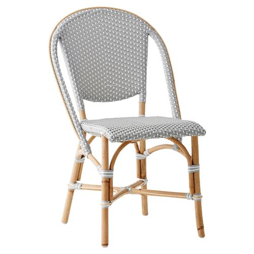 Selene French Country Rattan Dining Side Chair