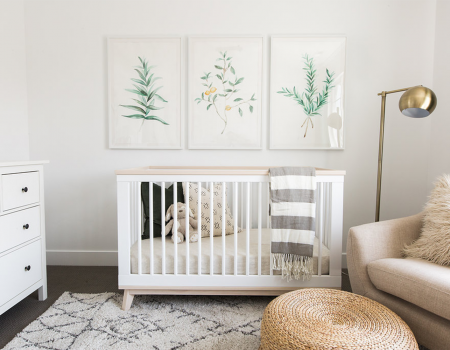 How To Design A Chic Nursery That Grows With Baby