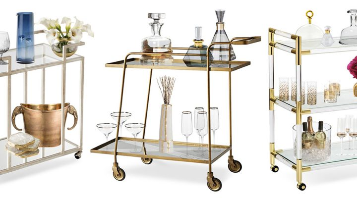 3 Luxury Bar Cart Looks That Always Impress for any Occasion