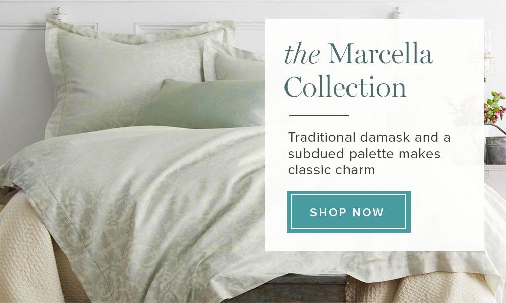 Peacock Alley Modern Marcella Jacquard Bedding Collection