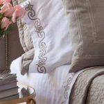 Lili Alessandra Mozart Regency Champagne Sheet Set