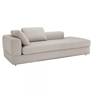 Eichholtz Canyon Modern Classic Panama Natural Right Arm Sofa